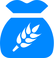 Icon of a bag of wheat