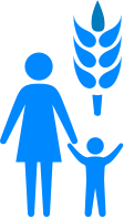 Icon of a mother and child