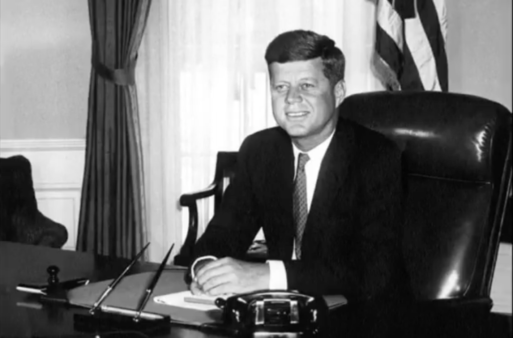 JFK in the Oval Office