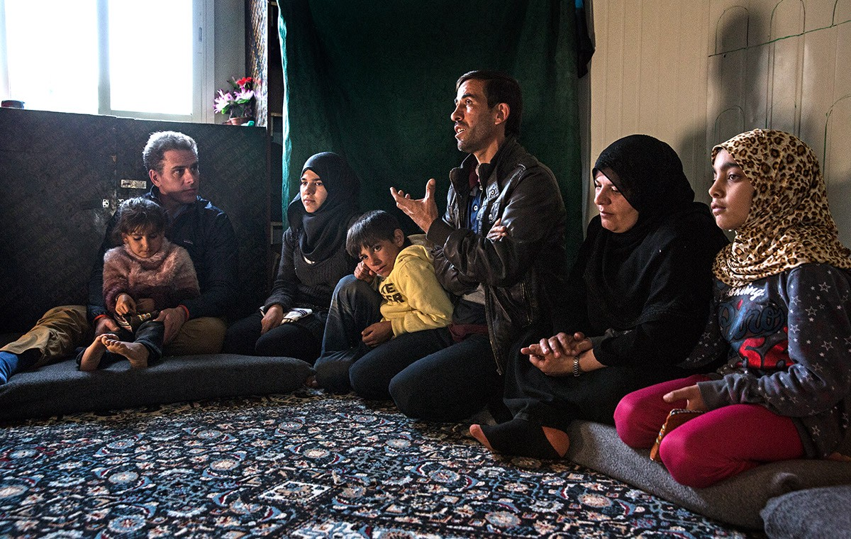 In January, WFP USA Board Chair Hunter Biden traveled to Jordan to spend time with Marouf's family.