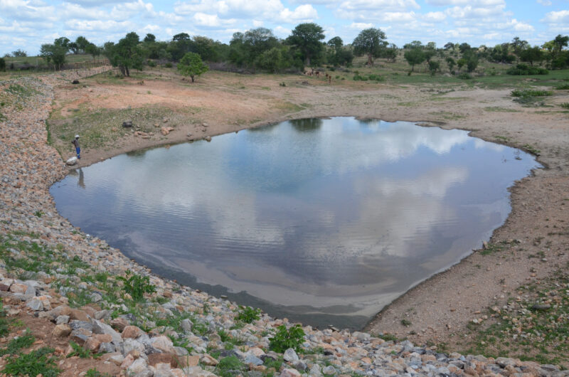Detailed photograph of Dry Dams