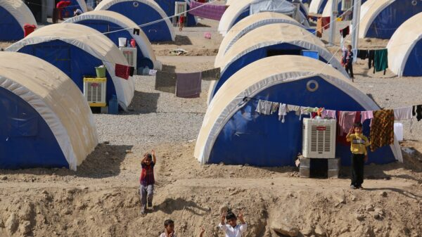 Children at the Debaga and Ashti camps in northern Iraq, where thousands of people have fled to safety from areas controlled by so-called Islamic State.