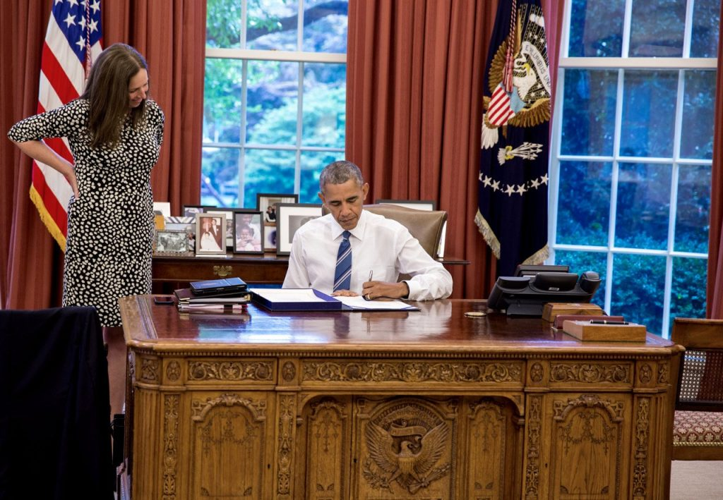 President Obama signs the Global Food Security Act.
