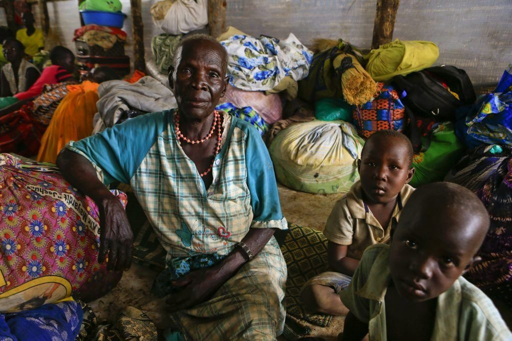 This woman and her grandchildren were among 3,000 people who fled the village of Pajok in South Sudan on April 3rd, 2017 following an attack by government forces.