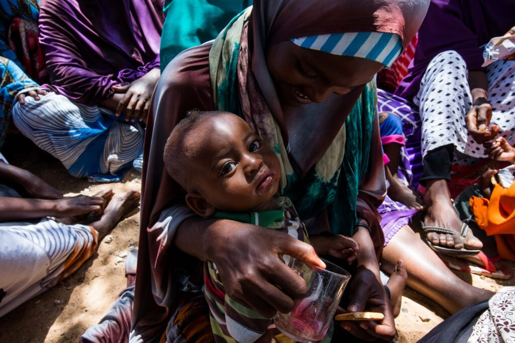 Hungry children are more vulnerable to disease