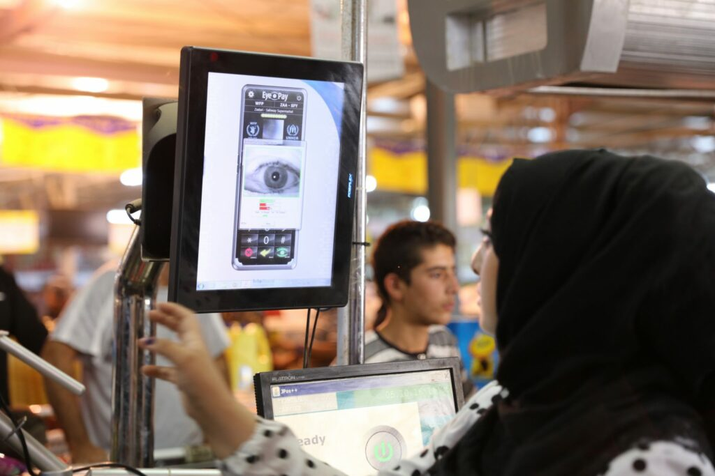 WFP's Iris Scan and Blockchain technology help refugees access food