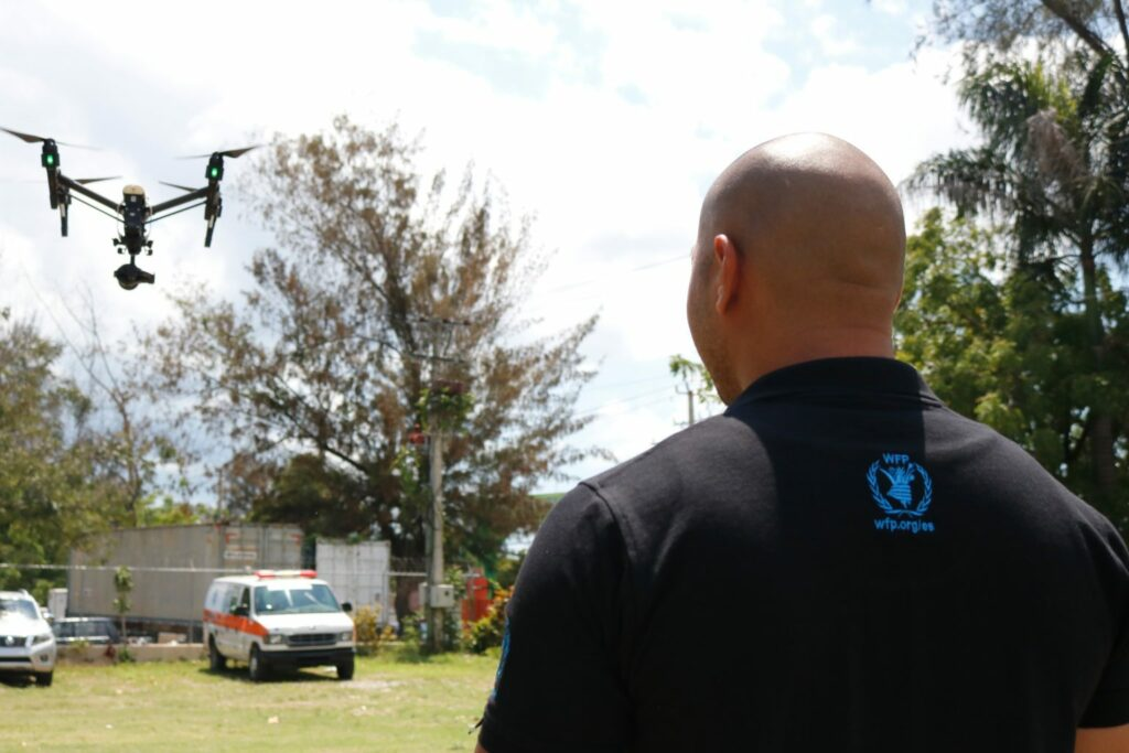 WFP drones help access disasters and map a path for humanitarian relief