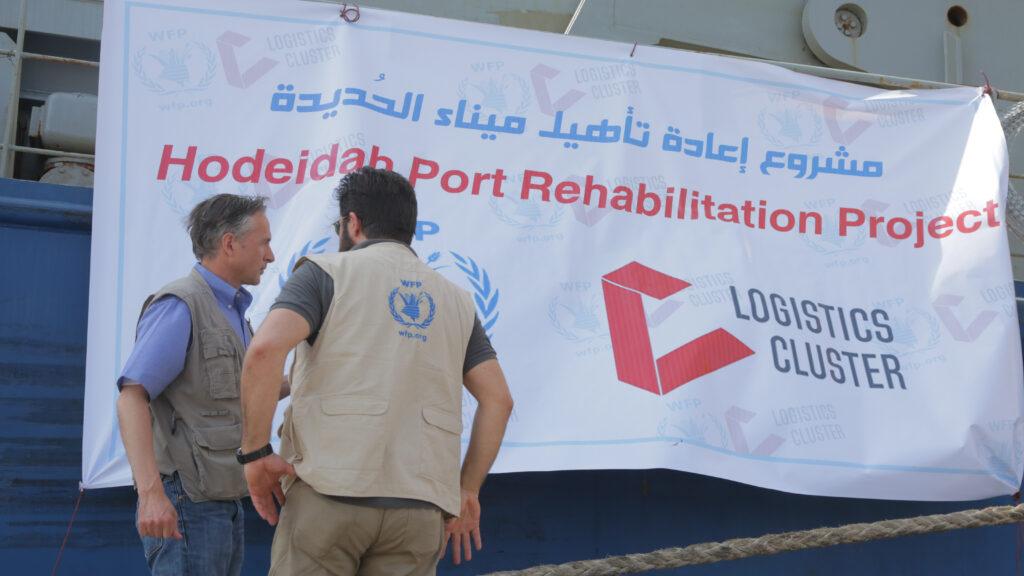 logistics, yemen,