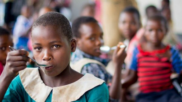 The Home-Grown School Feeding programme in Malawi supports local farmers, providing school meals using local produce to almost 1 million children.
