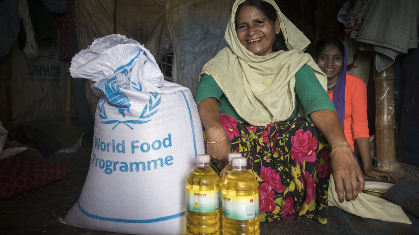 Image depicting The food WFP Delivers