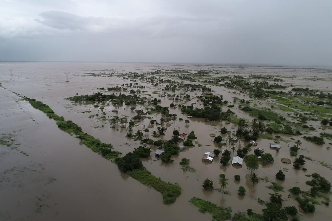 Image depicting the aftermath of Cyclone Idai