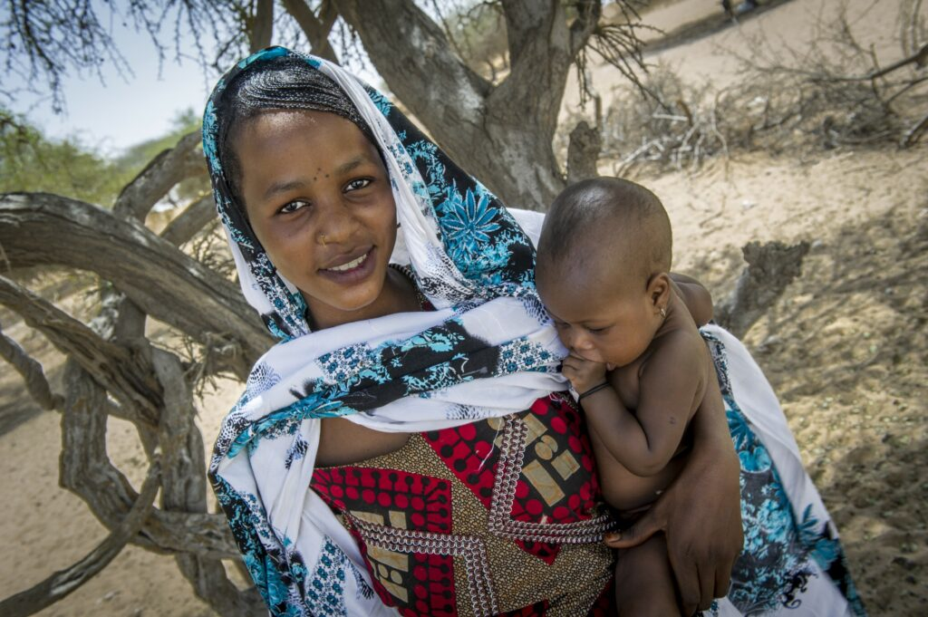 WFP's nutrition program in Chad helps mothers and children