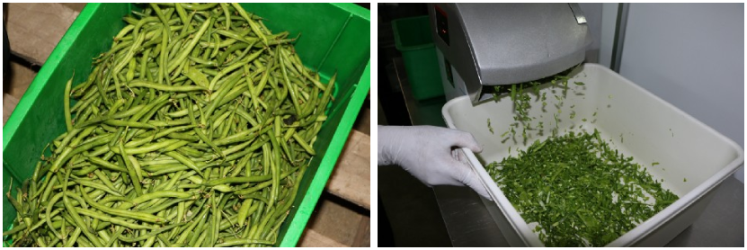 Green beans are given a second life.