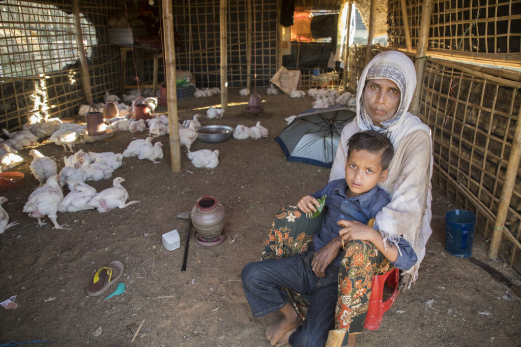 In places like Bangladesh, women are more likely than men to live in extreme poverty