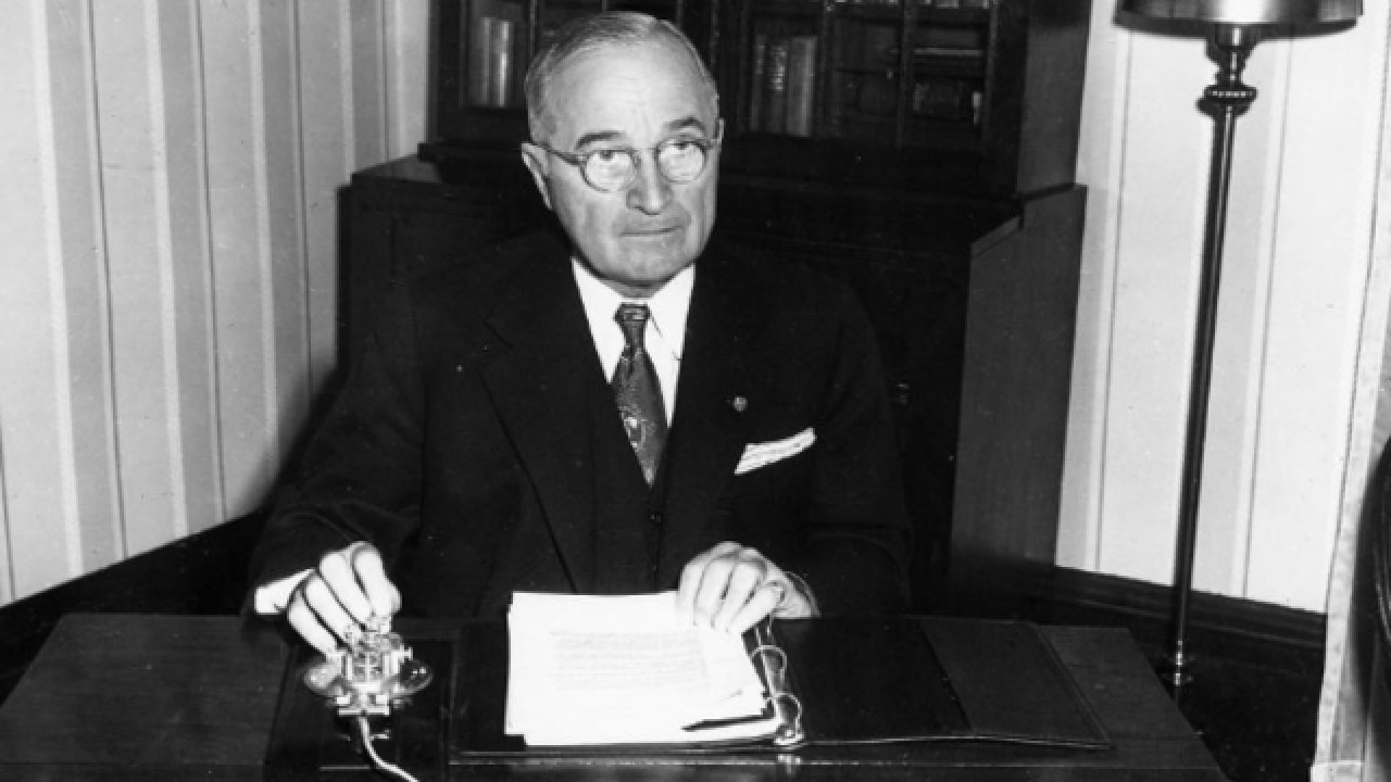 President Truman declared hunger as the enemy of Europe after WWII