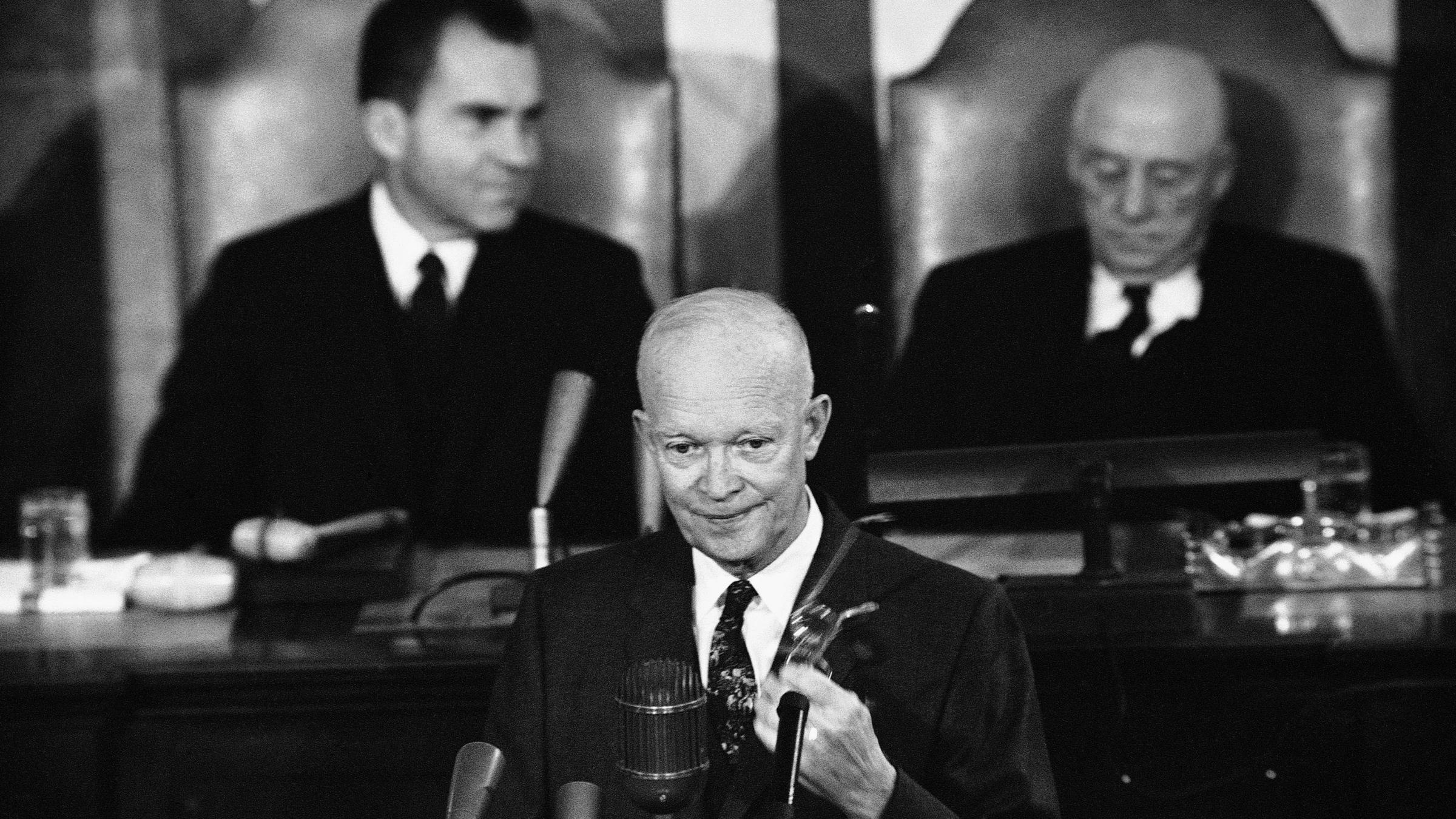 President Eisenhower created Food for Peace program, there largest donor to WFP