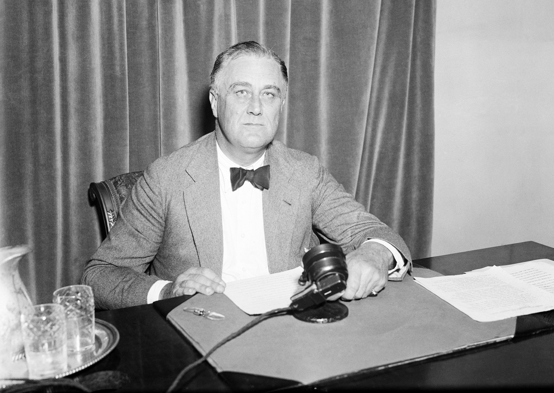 FDR proposed the idea of the United Nations