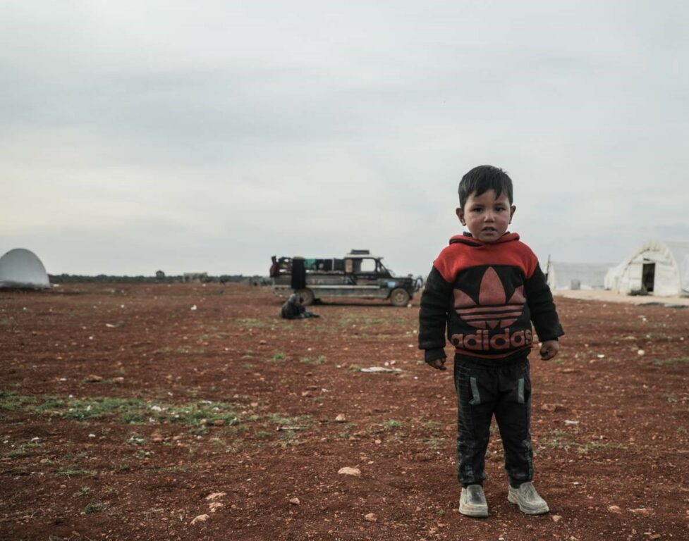 Millions of people in Syria are displaced and hungry due to conflict.