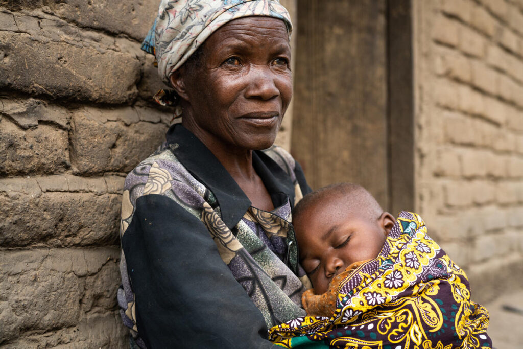 The UN World Food Programme helps save the lives of malnourished children.