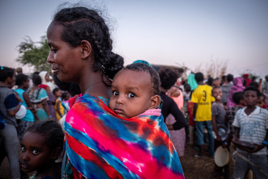 Sudan. Influx of refugees arriving from Tigray in Ethiopia.