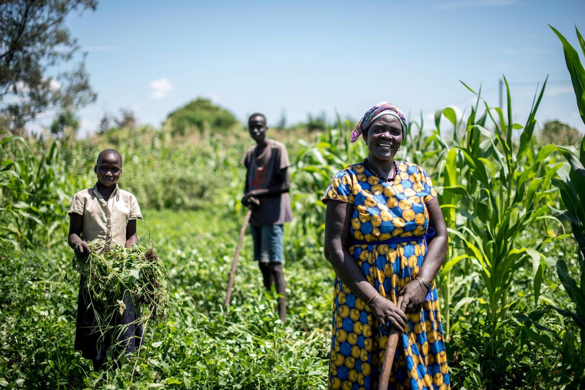 women farmers in field