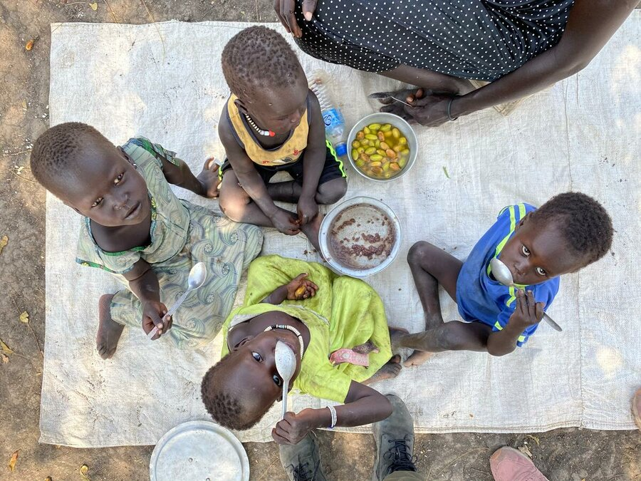 In South Sudan, famine severely impacts children