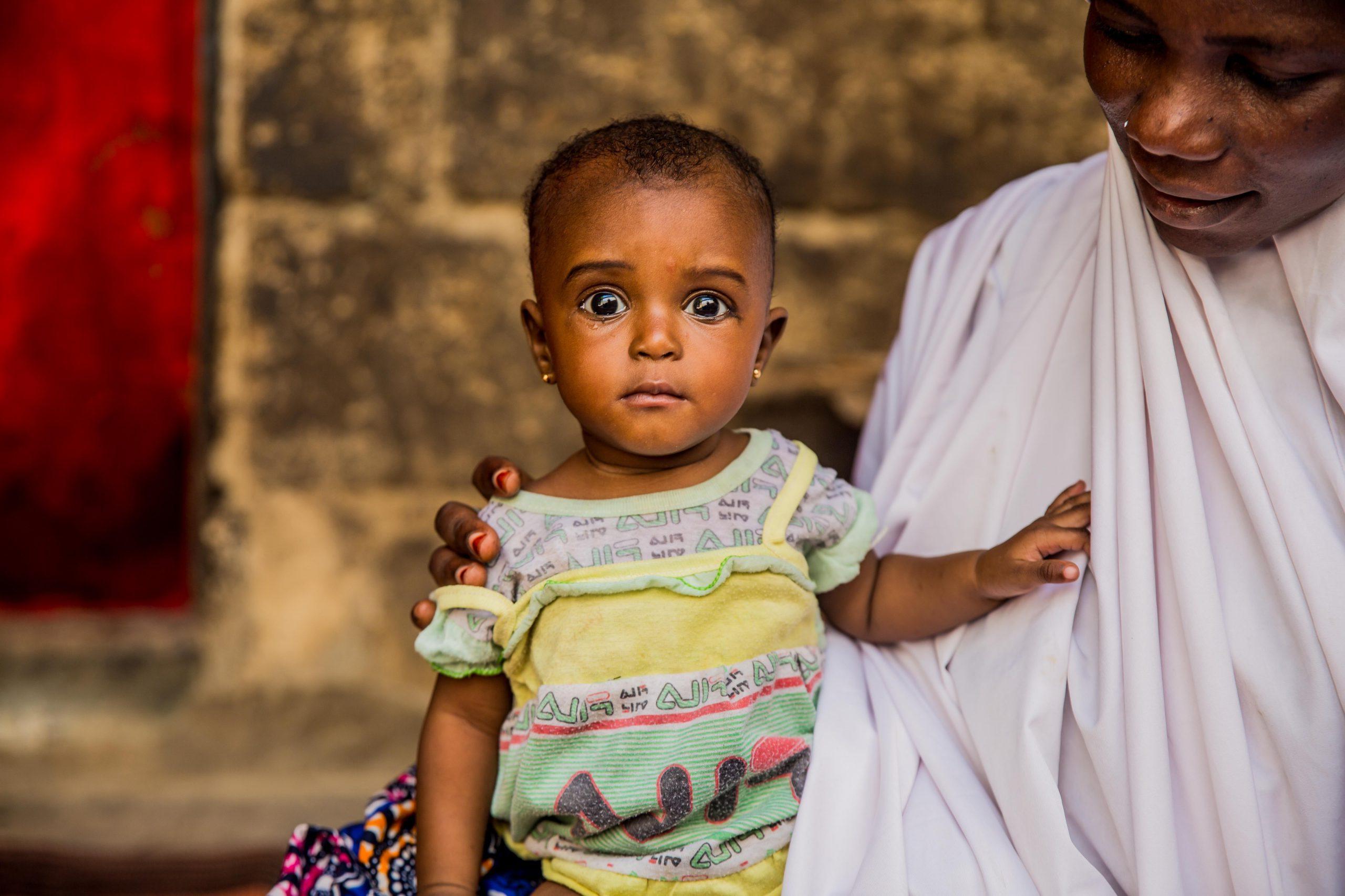 Famine affects children in Nigeria