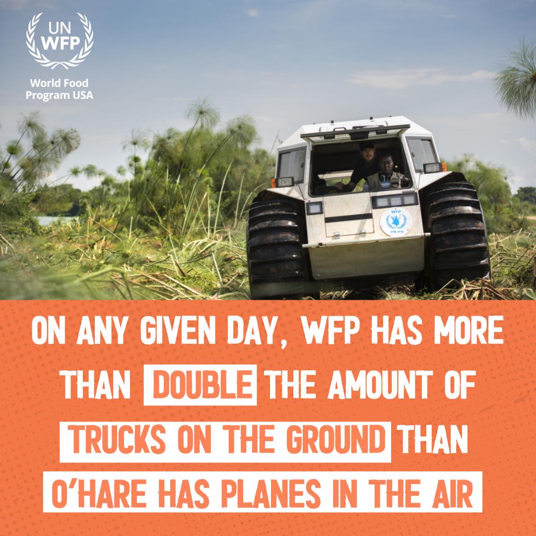 WFP Trucks vs. O'Hare Planes