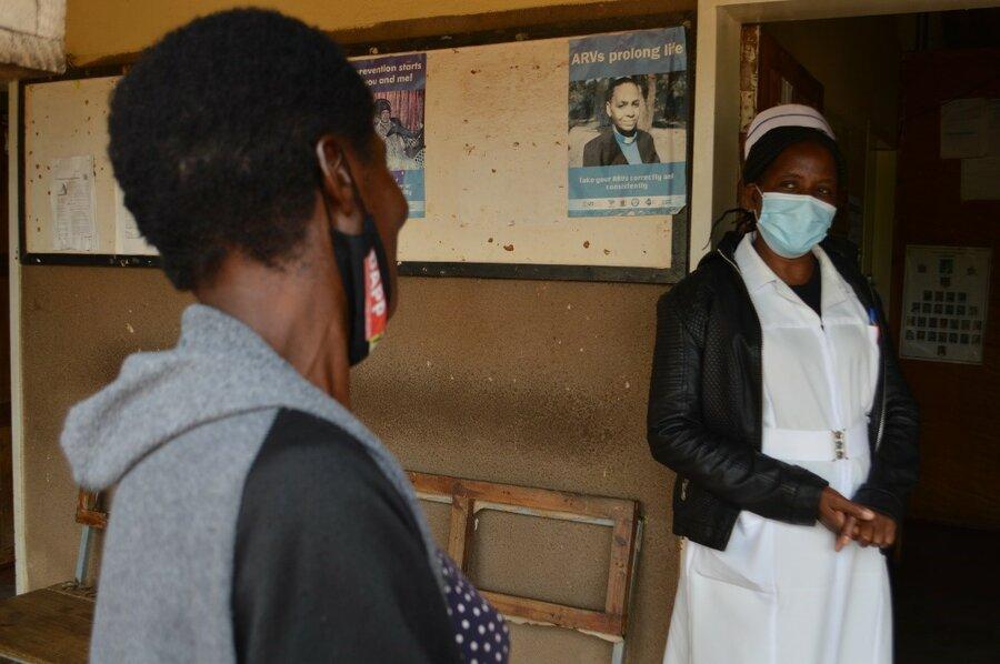 midwife in Zambia