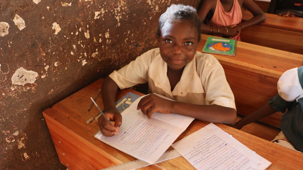 WFP School meals help children in C.A.R. stay in healthy and in school