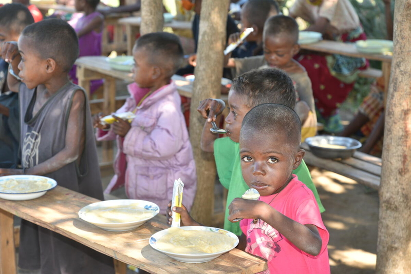 Emergency food assistance & long-term programs help prevent famine