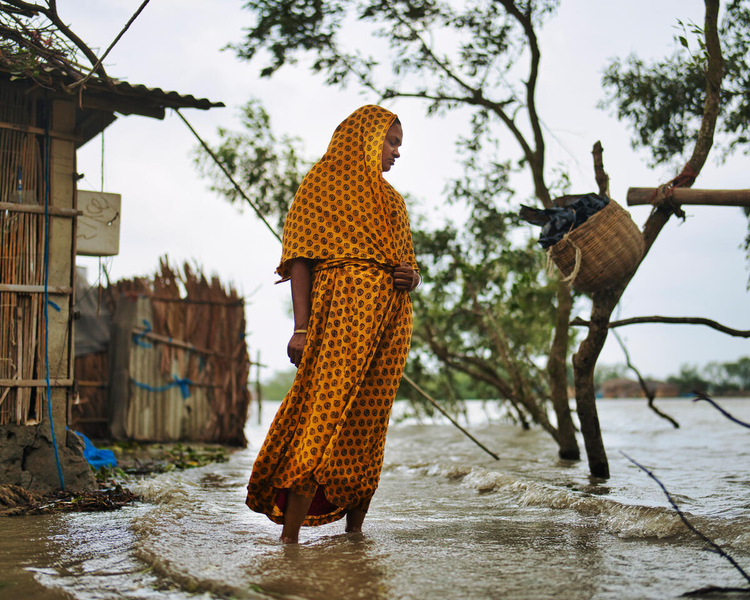 climate change causes extreme weather that create more hunger