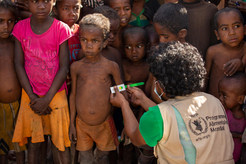 children are most affected by famine