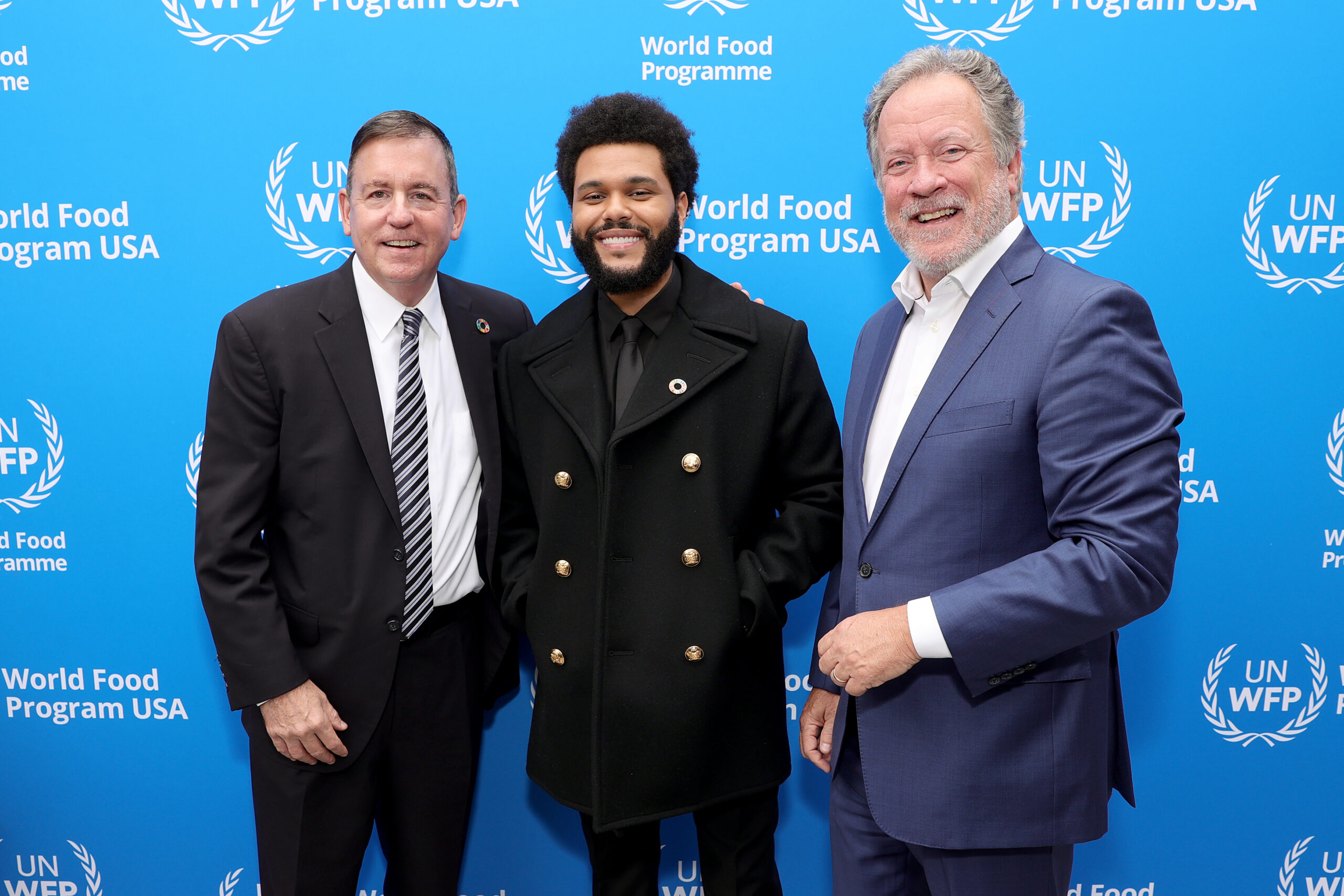 the weeknd joins wfp